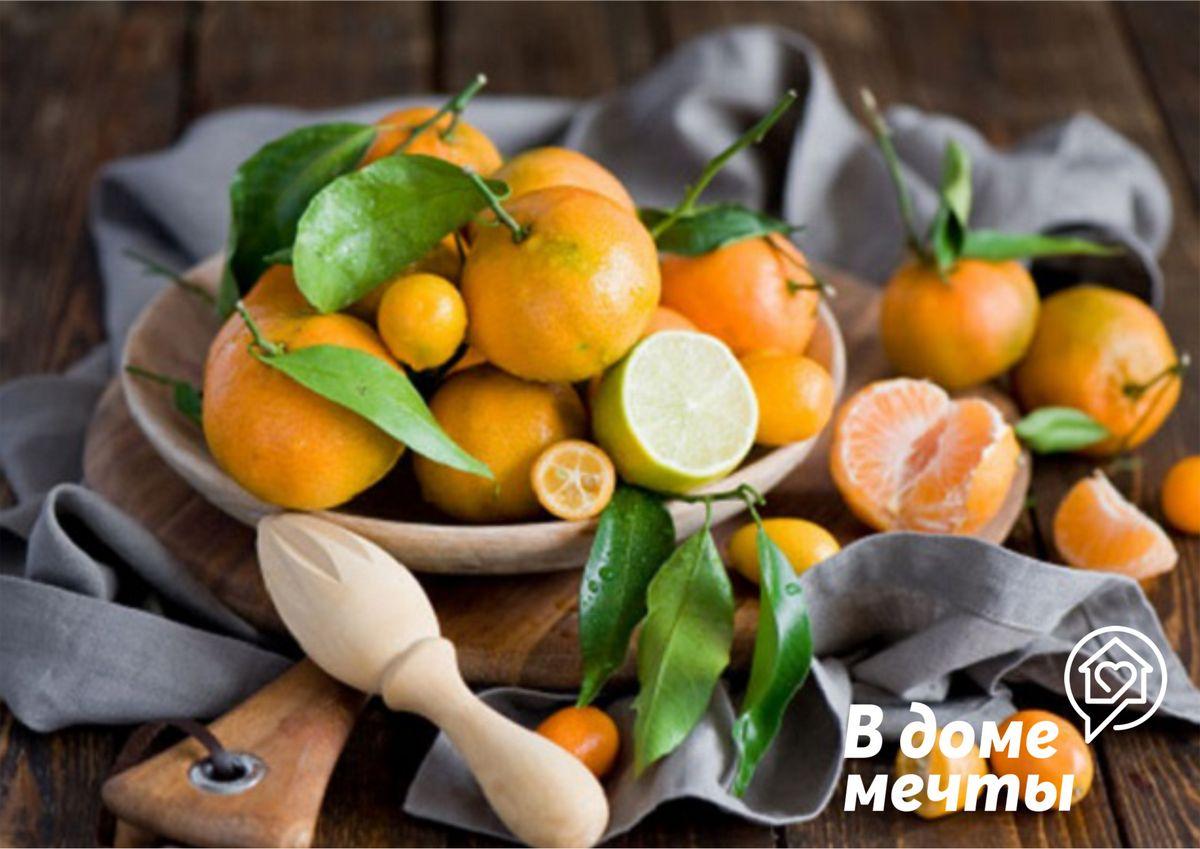 Хранение мандарин в домашних условиях