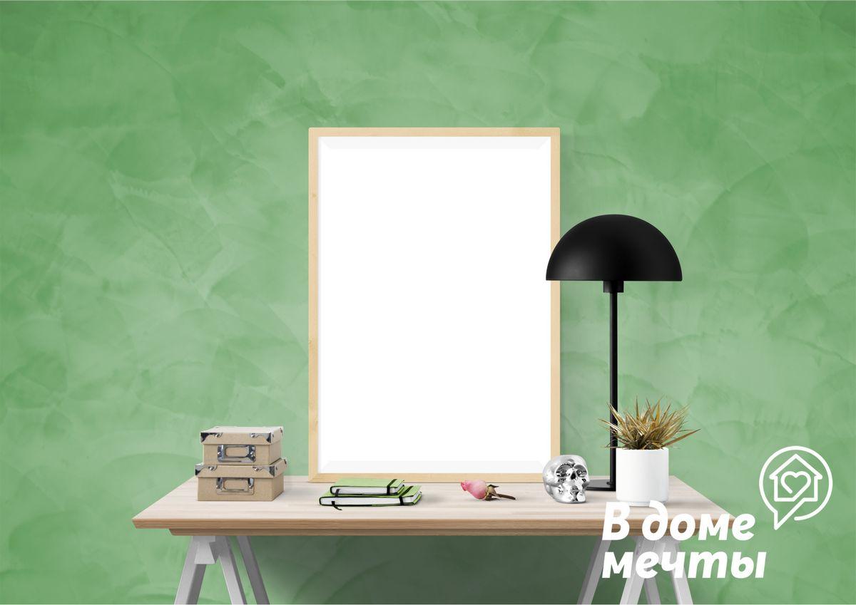 Весенние мотивы: зеленый цвет в интерьере гостиной