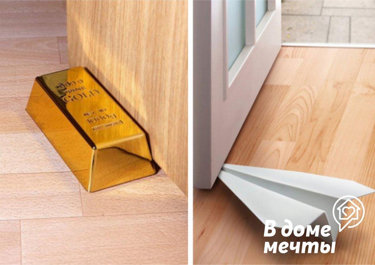 Техника монтажа дверного напольного и настенного ограничителя