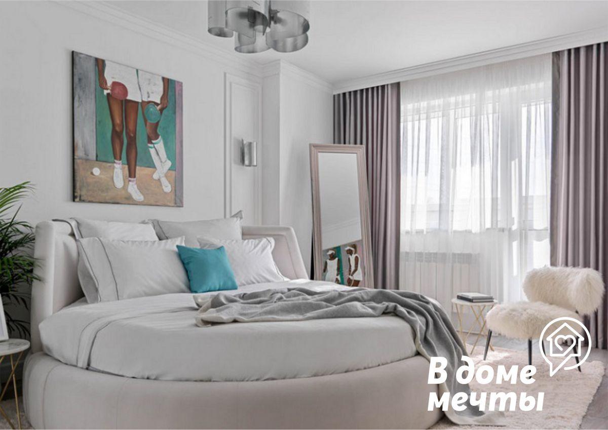 Как выбрать качественные и стильные шторы для спальни