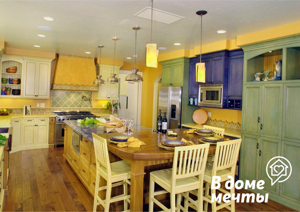 Как сочетать оттенки и цвета в кухонном интерьере
