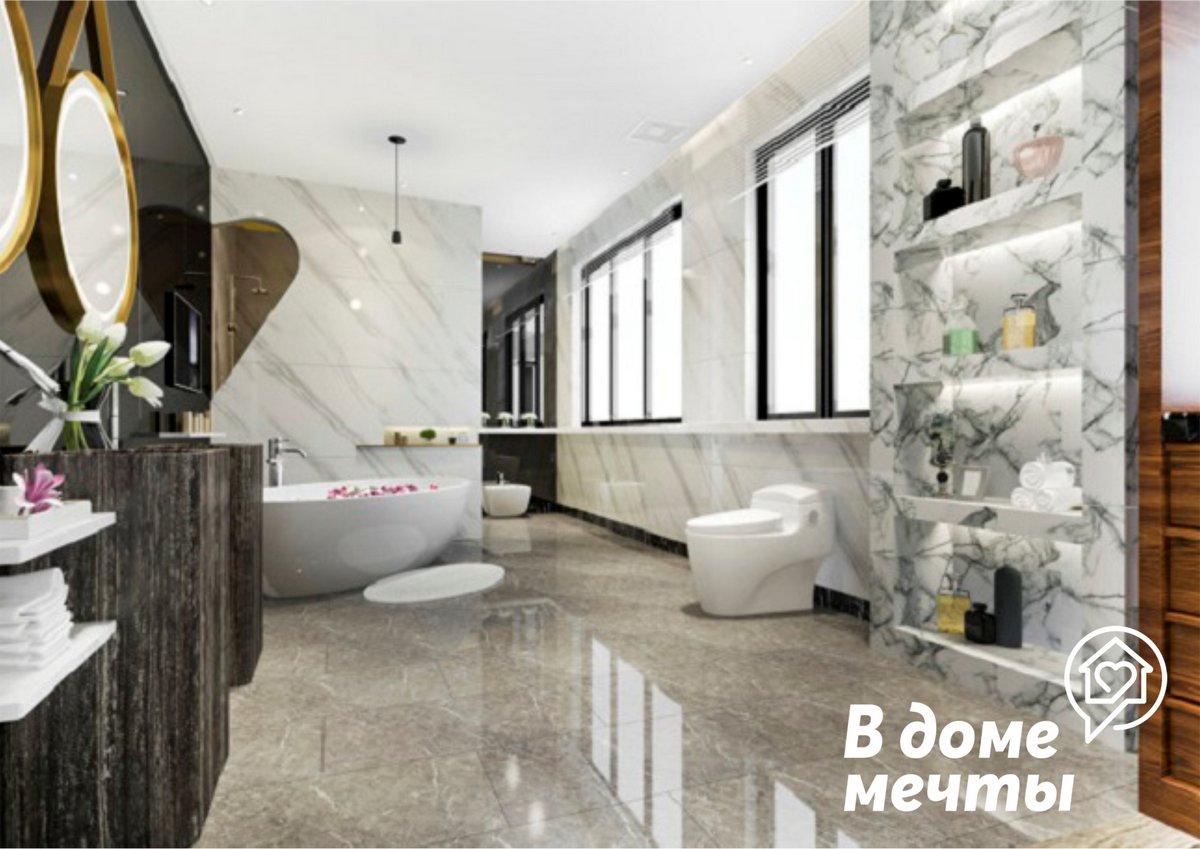 Стильная ванная комната: как эффективно спрятать коммуникации и трубы