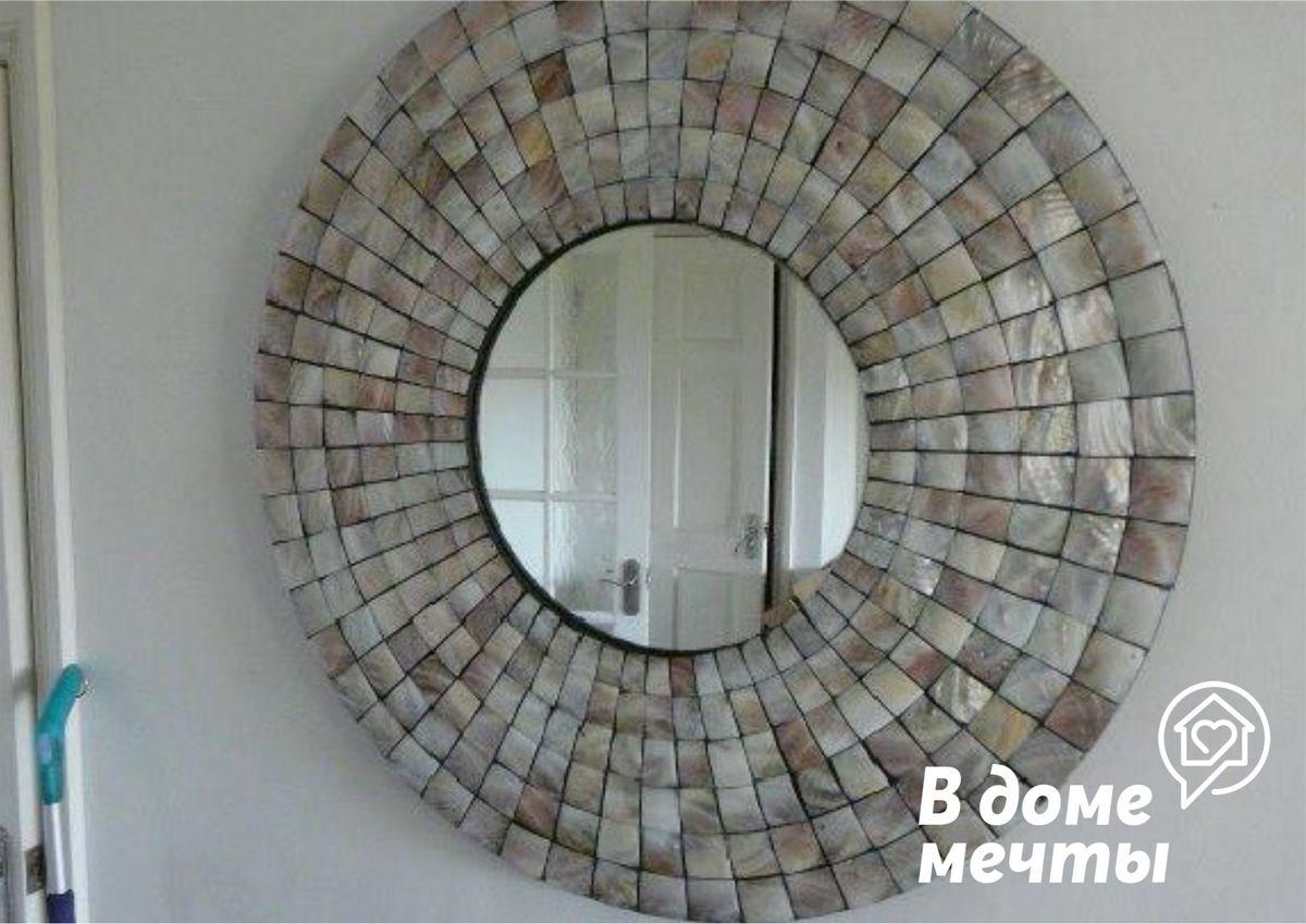 Мозаика из перламутра в интерьере