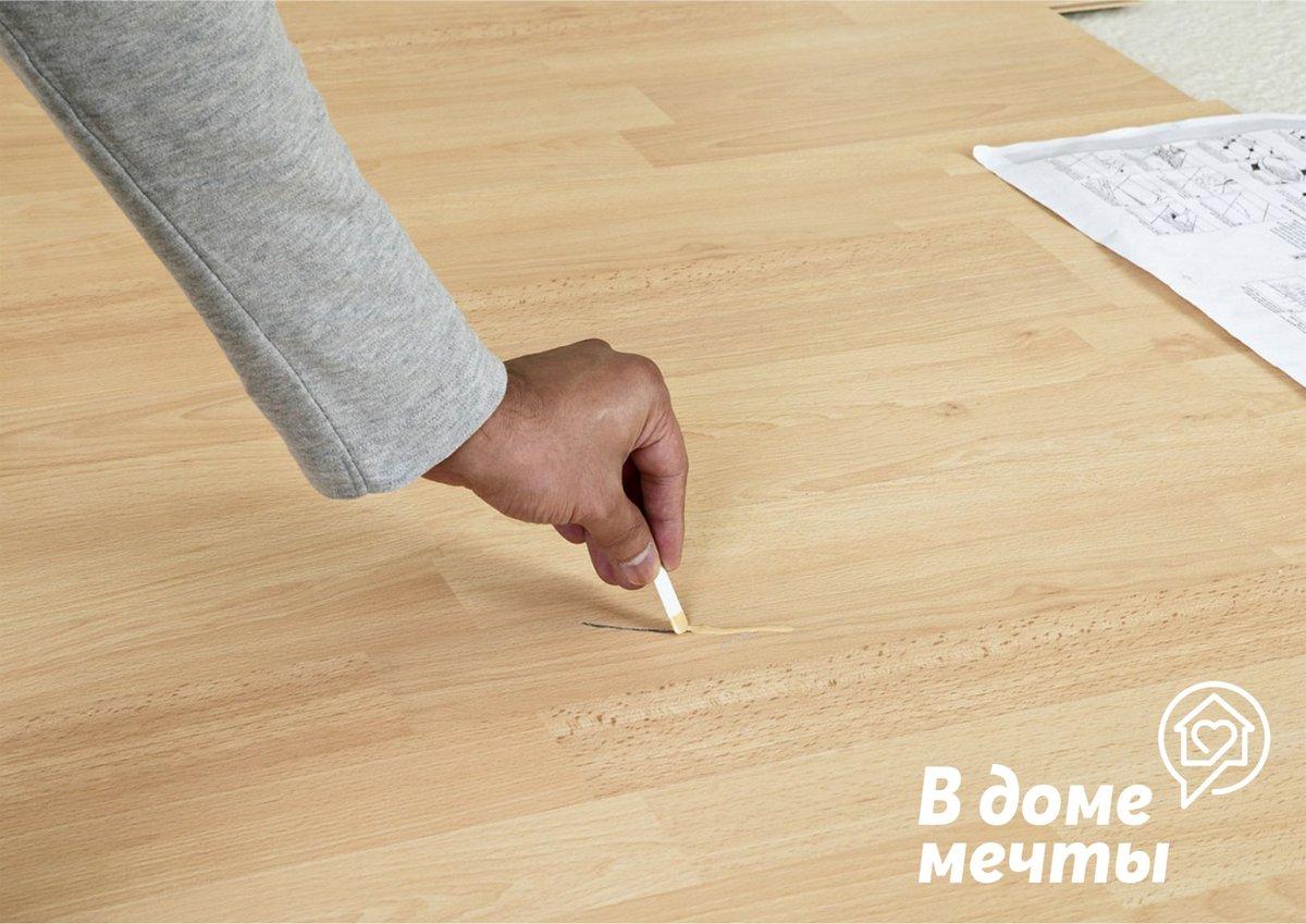 Убираем сколы, царапины и трещины на мебели: восемь действенных методов