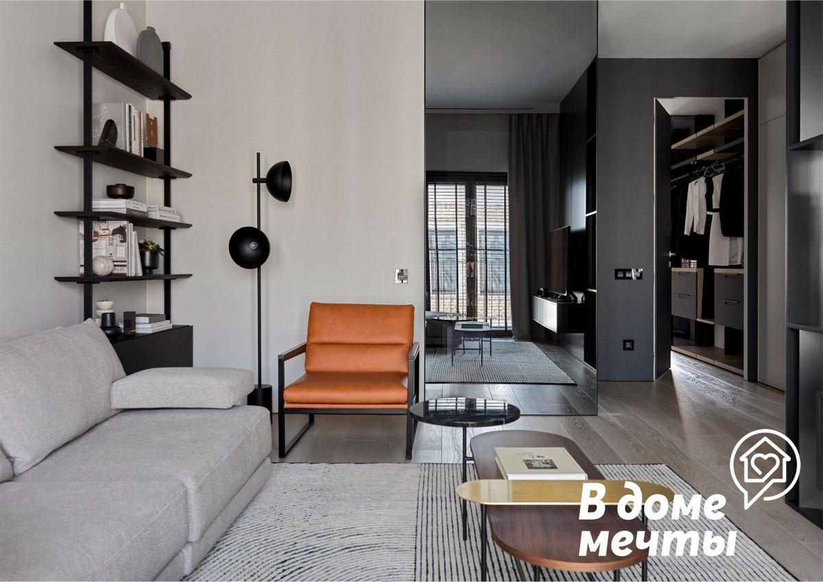 Основы эффективного зонирования пространства: как сделать из одной гостиной две функциональных зоны
