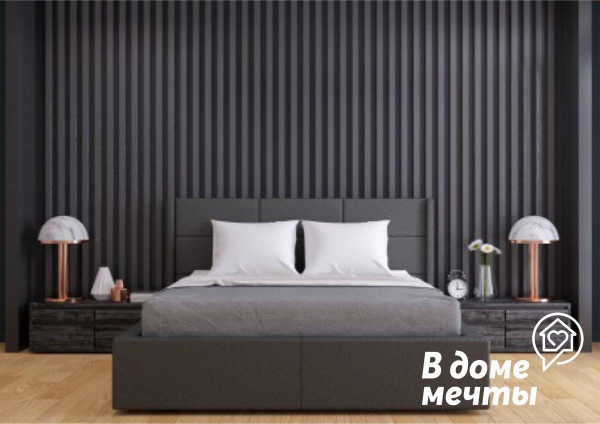 Черная стена в домашнем интерьере: лучшие варианты сочетаний