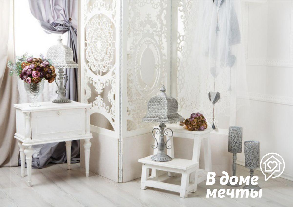 Хотите, чтобы ваш дом выглядел уютно и элегантно? Используйте стиль шебби-шик для оформления интерьера!