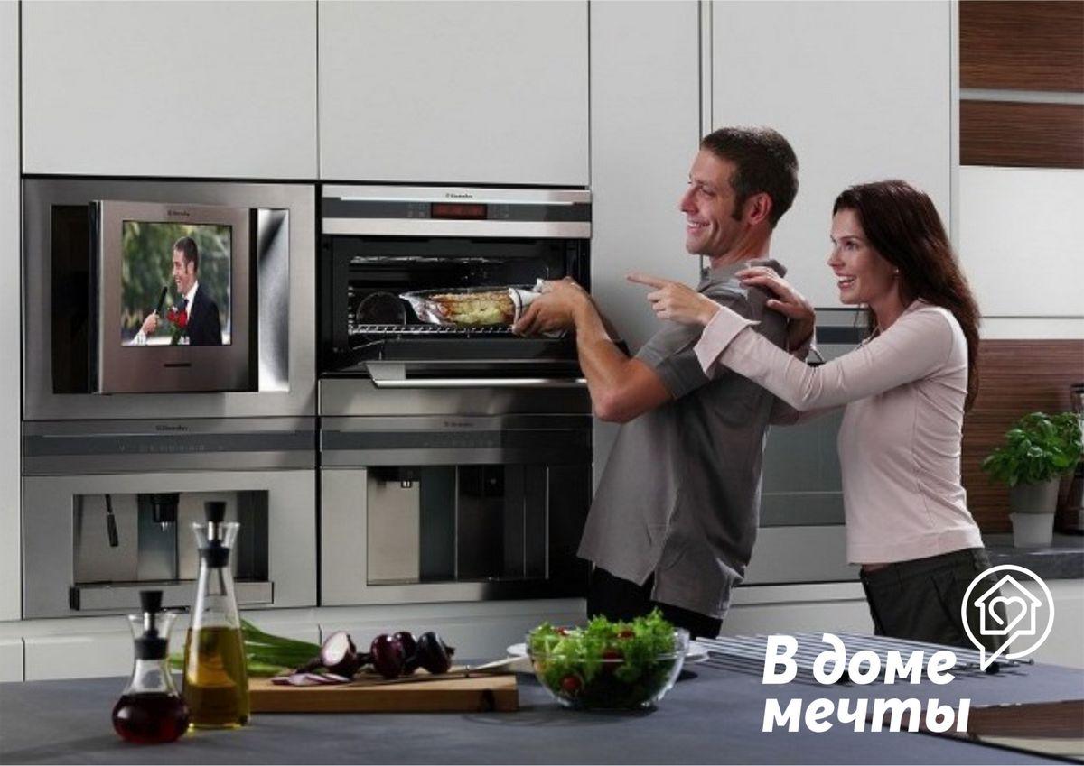 Нужна ли встроенная техника на кухне или это лишь дорогой дизайнерский ход? Разбираем все недостатки и достоинства!