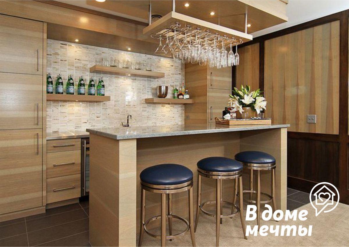 Кухонная барная стойка может кардинально преобразить интерьер, если выбрать правильный размер и лучшие материалы!