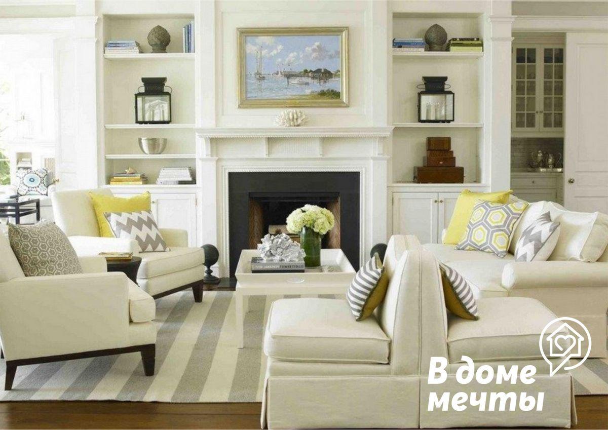 Американский стиль в оформлении интерьера - лучший вариант для бюджетного ремонта!