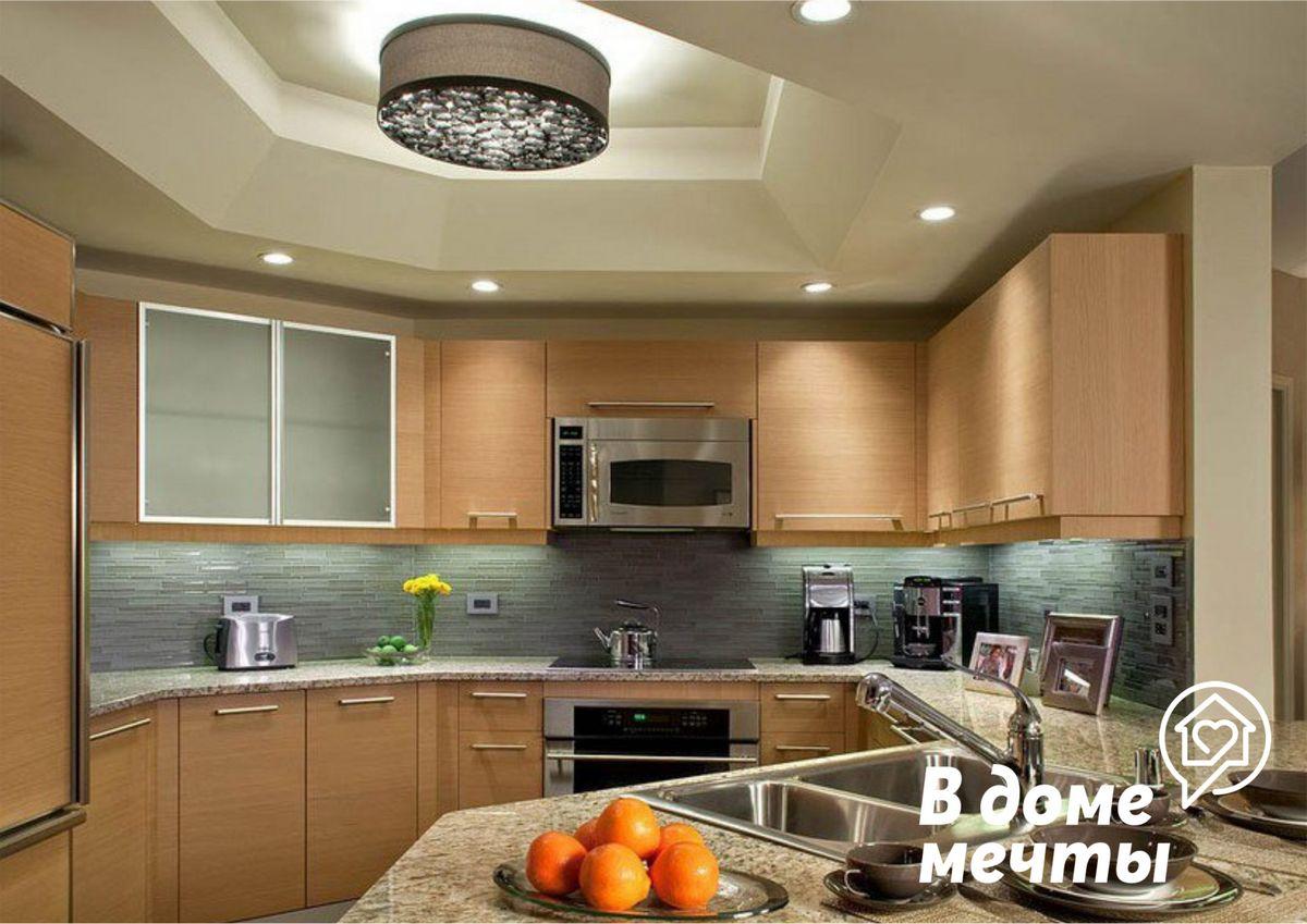 Чтобы ваша кухня выглядела стильной и ухоженной, используйте эти материалы для отделки потолка!
