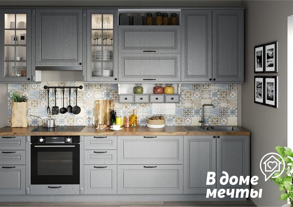 Как превратить старый кухонный гарнитур в стильную и красивую мебель? Представляем семь универсальных вариантов декора!