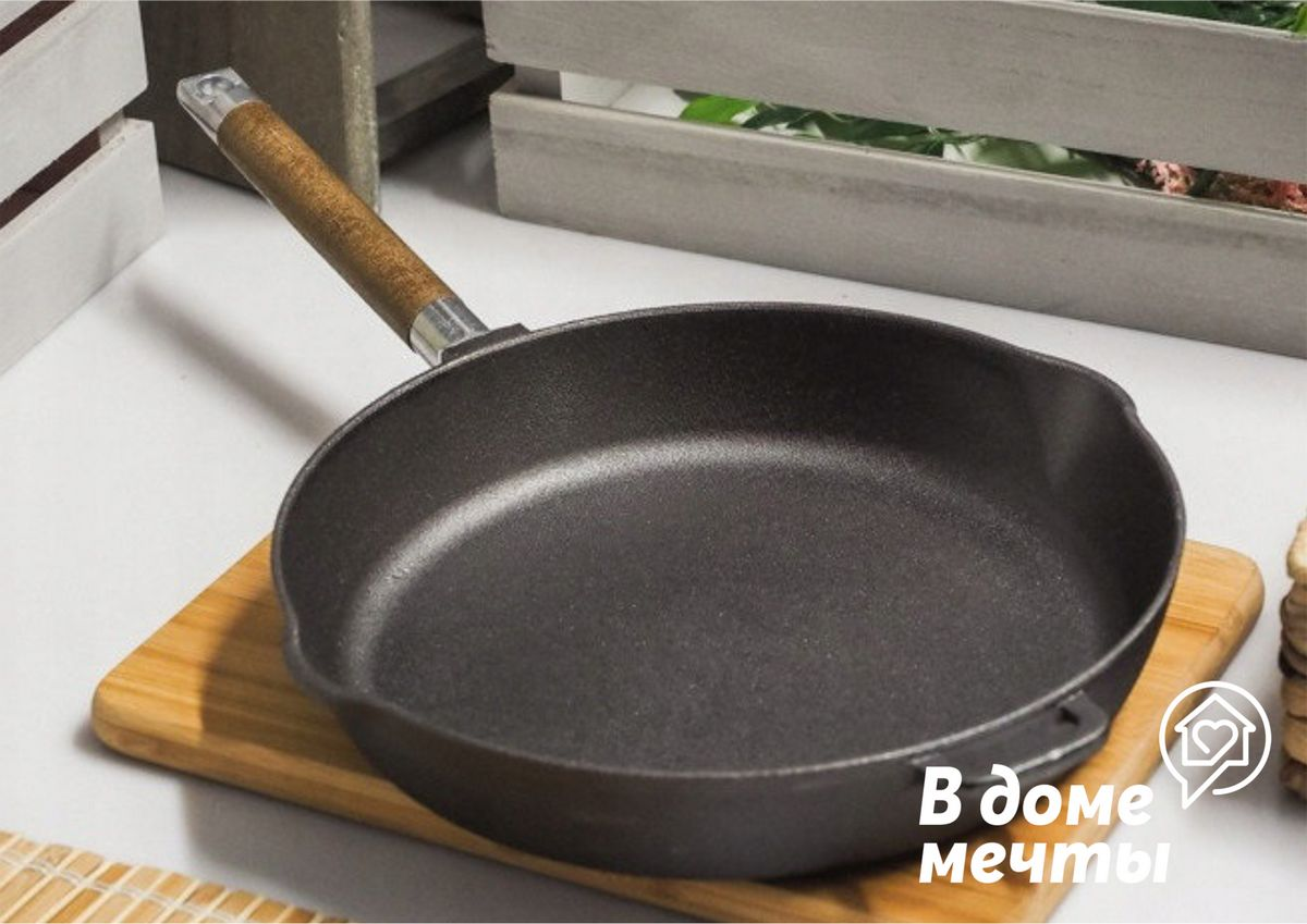 Как почистить кухонную сковородку от старого нагара: самые эффективные лайфхаки