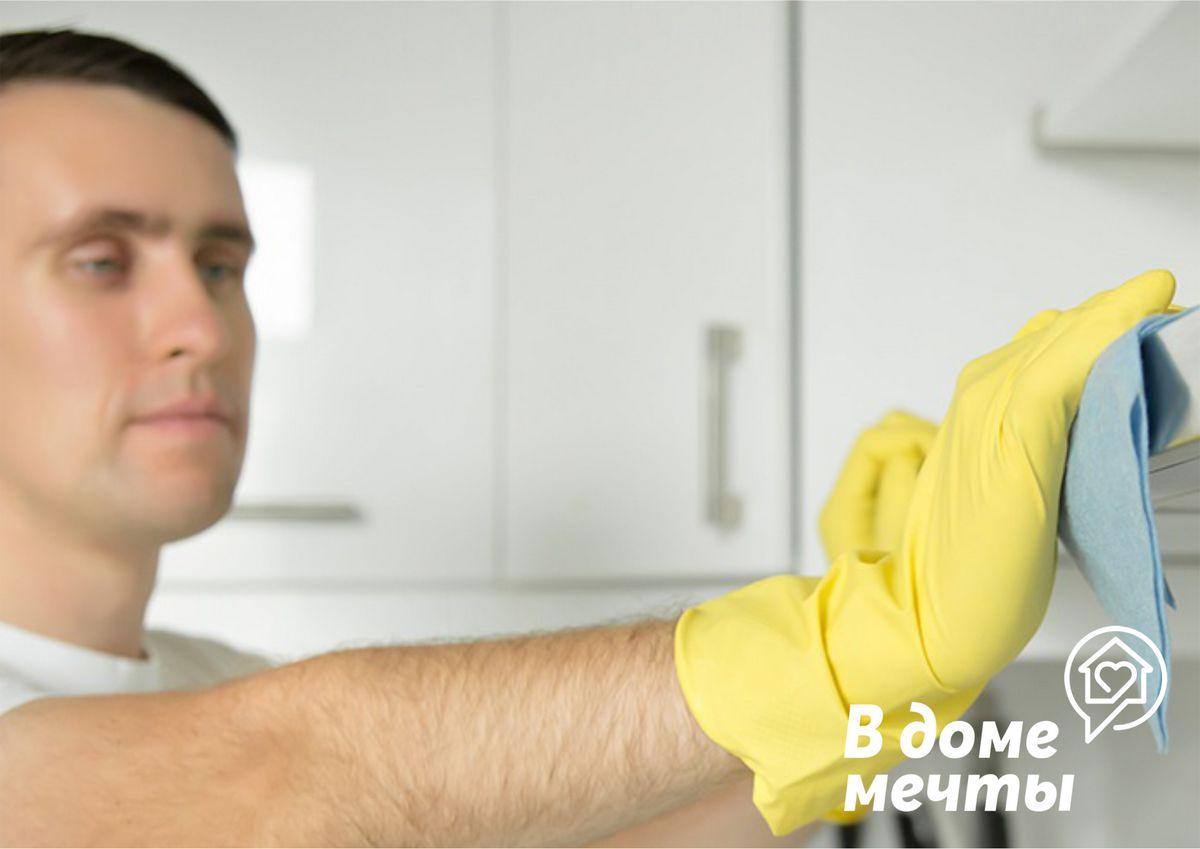 Быстрая чистка вытяжки на кухне