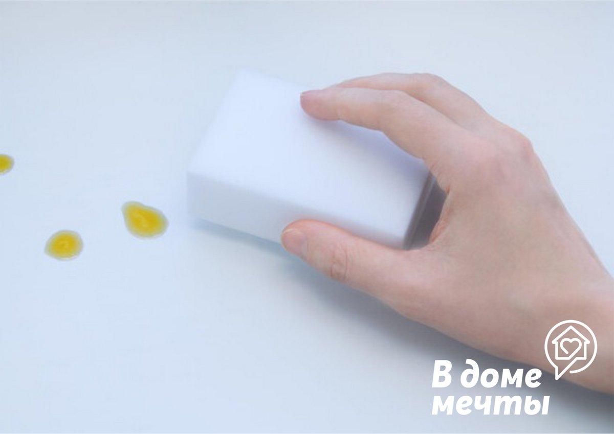 Топ-8 вариантов применения меламиновой губки в доме