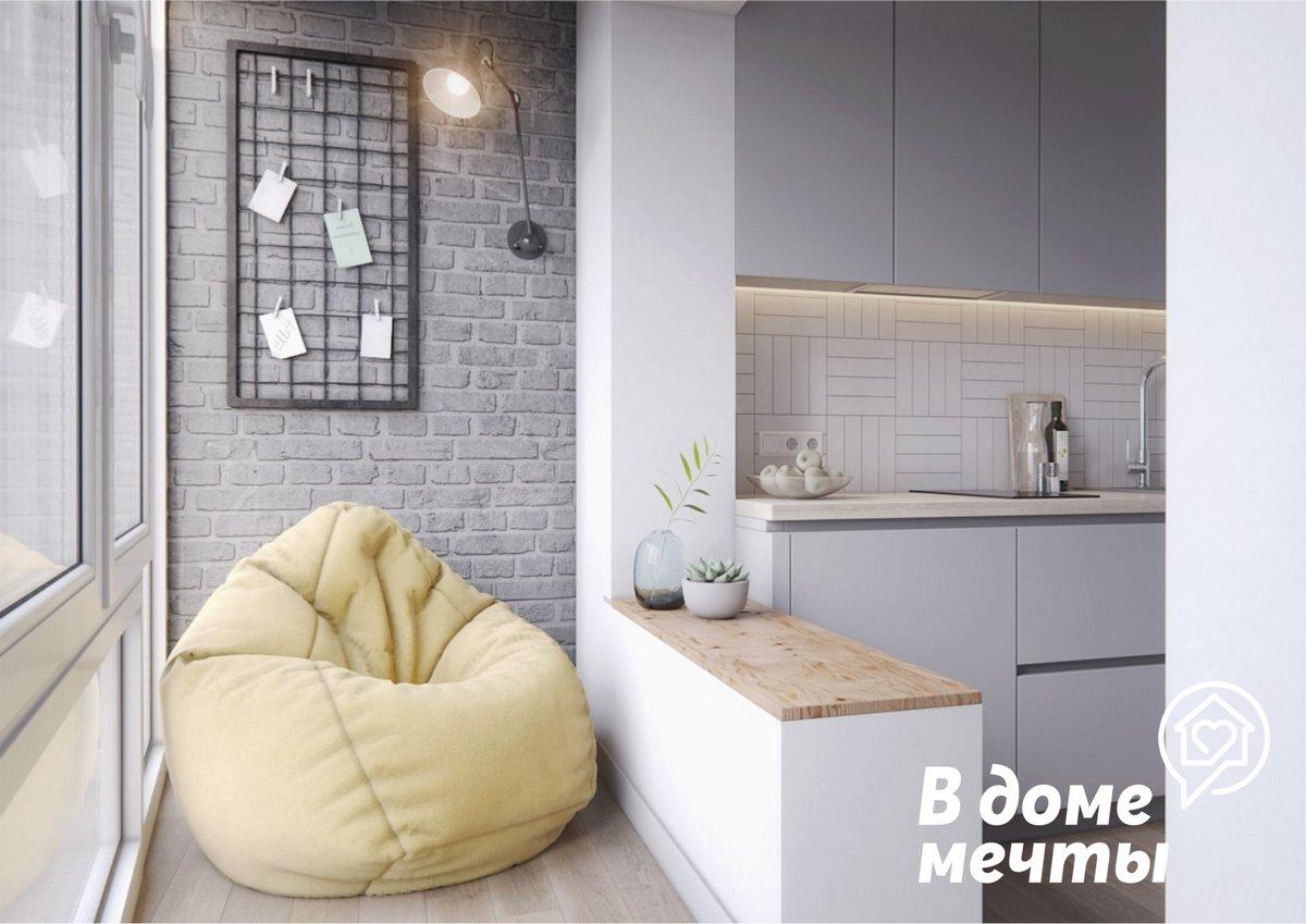 Как превратить застекленный домашний балкон в полноценную комнату? Представляем шесть самых интересных идей!